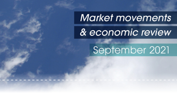 Market movements & review video - September 2021